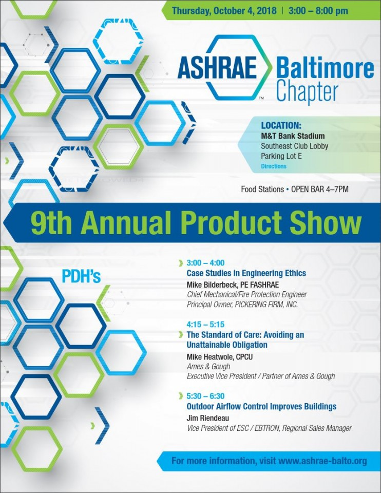 2018 Product Show Flyer